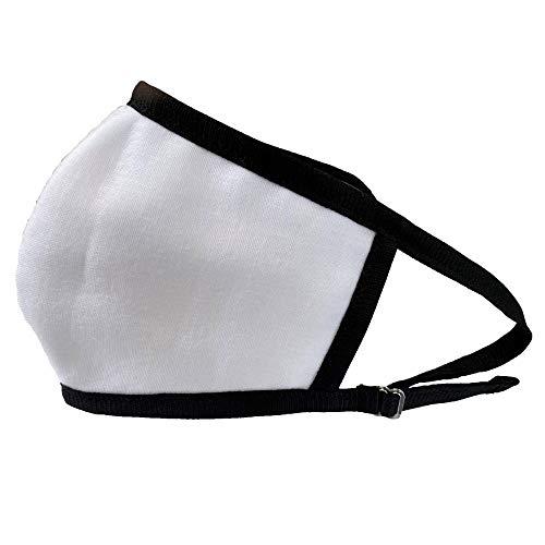 タックマミー tacmamy 立体ガーゼマスク 夏マスク 4重ガーゼ 布マスク 日本製 普通サイズ 綿100% 洗えるマスク フリーサイズ (ホワイトガーゼ×ブラックテープ)