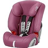 BRITAX RÖMER Silla de coche EVOLVA 1-2-3, niño de 9 a 36 kg (Grupo 1/2/3) de 9 meses a 12 años, Wine Rose