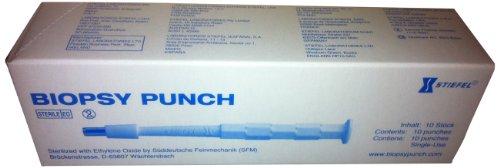 GSK-Stiefel STIEF-BP8 Biopsy Punch, steril, 8 mm, 10 Stück