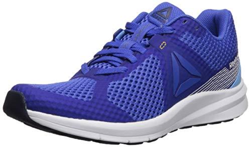Reebok Women's Endless Road Running Shoe, Crushed Cobalt/Sky Blue/White/Solar Gold/Collegiate Navy, 9.5 M US