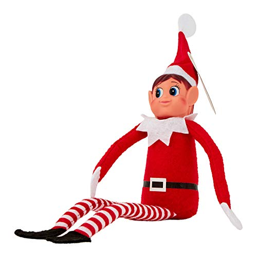 Nuovo Natale - Elves Behavin Rosso Dolce 12'Lego Lungo Leg Soft Doll Elf di Ragazza