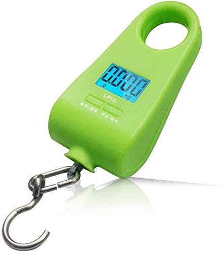 SLL Mini pesaje Pesaje Portátil Escala de Gancho 20kg Portátil Portátil Escala de Cocina Escala Expresa Escala de Primavera práctico