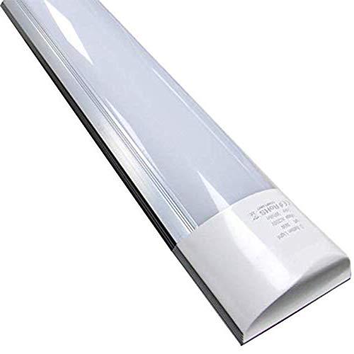 Pack 2x Pantalla 150cm. Tubo led integrado T8, 48w. Color blanco frio (6500 K), 4000 lumenes. Regleta led slim. A++