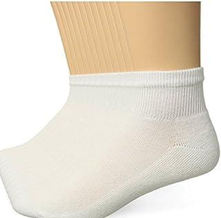 Hanes Mens White Active Cool Ankle Socks