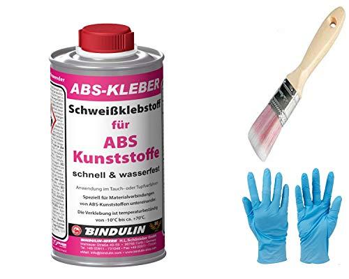 ABS-Kleber Schweißklebstoff für ABS Kuststoffe inkl. Pinsel von E-Com24 (200 ml)