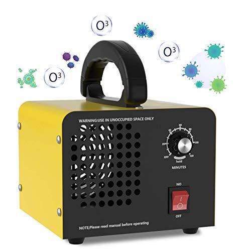Purificatore d'aria Generatore di Ozono 10.000mg/h ,QUARED Ozonizzatore / Deodorante per camere da letto, fumo, automobili pulisce fino a 300㎡