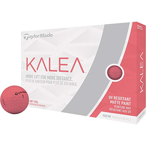 TaylorMade Kalea Golf Balls, Peach (One Dozen)