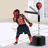 XGL Punching-Ball,Boxing Reflex Ball,Höhenverstellbar Standfuß,Reflexe und Koordination,Für Boxtraining,Kickboxen,Muay