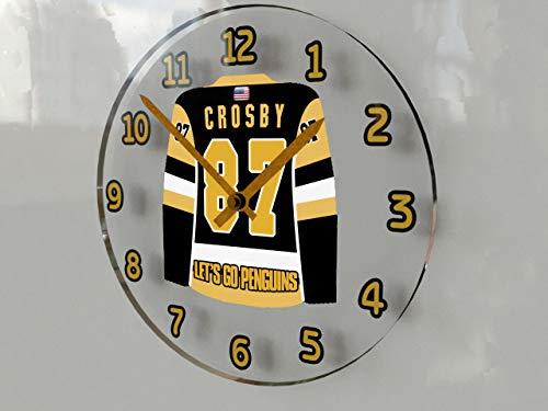 FanPlastic Sidney Crosby SID The Kid - Pittsburgh Penguins NHL Eishockey Jersey WANDUHR !!!!!