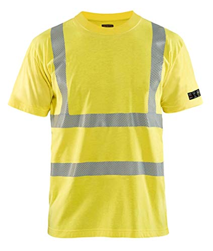 Multistore 2002 - Maglietta a maniche corte, taglia S, colore: Giallo