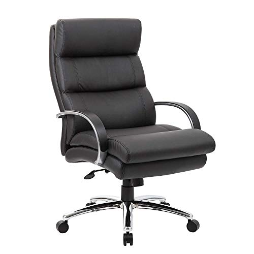 Boss Office Products Heavy Duty Executive Chair-400 Lbs Boss Office Chefsessel, robust, 180 kg, Sonstige, schwarz