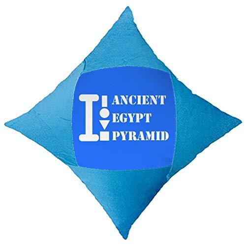 OFFbb-USA - Funda decorativa para cama de coche, diseño de pirámide de Egipto antiguo