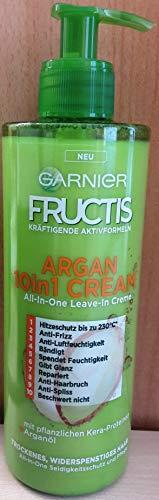 Garnier Fructis Argan 10in1 Cream All-in-One Leave-In Creme (400ml)