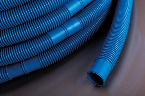 Pondlife Poolschlauch, qualitativ hochwertiger Wasserschlauch für Pool und Schwimmbad (blau) Ø 38 mm, Länge 9 m, UV- und Chlorwasser-beständig, original nur aus Europa, Nicht aus China!