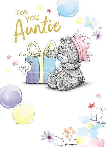 Auntie Me To You Bear Tatty Teddy Birthday Card