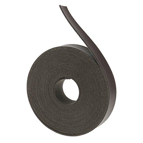 Lederband 20 mm flach Lederriemen Band Schnur Gürtel aus PU-Leder - Dunkler Kaffee