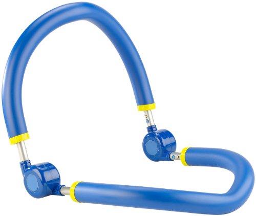 PEARL sports Oberschenkeltrainer: Bauchweg-Trainer mit weichen Schaumstoffgriffen (Bauchtrainer)