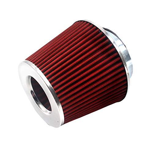 SDUIXCV Kit De Inducción De Vehículos De Filtro De Aire De 90 Mm De Rendimiento Universal Malla De Alta Potencia (Color : TU0018)
