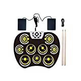 Electronic Drum Set, Portable Drums for Boys and Girls Beginners to Practice, Play
