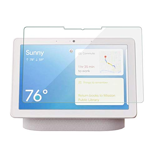 Screen Protector for Google Nest Hub Max 10 inch, 9H Hardness Tempered Glass Screen Protector with Scratch-Resistant, Bubble-Free, Crystal Clear