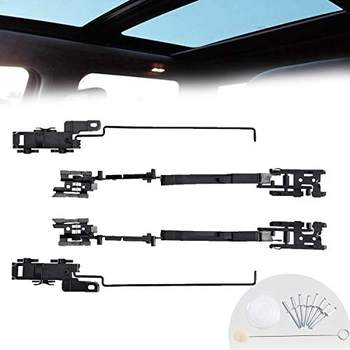 Sunroof Repair Kit, Sunroof Track Assembly Repair Kit Compatible with Ford F150 F250 F350 F450 Expedition Lincoln Navigator Mark LT