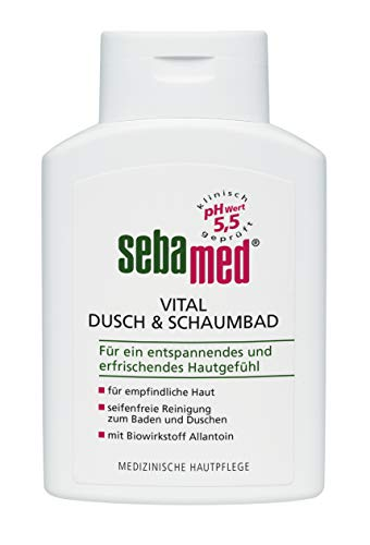 Sebamed Vital Dusch+Schaumbad, 2er Pack (2 x 200 ml)