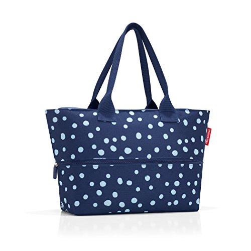 Reisenthel Shopper E1 Spots Blu Navy, 50 Cm