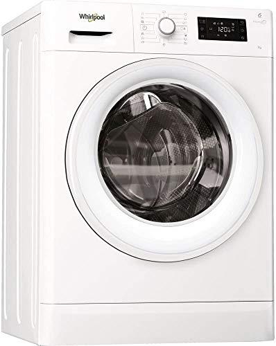 Whirlpool FWSG71253W Libera installazione Carica frontale 7kg 1200Giri min A+++ Bianco lavatrice