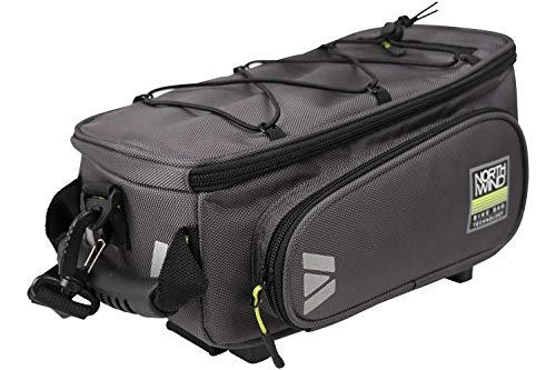 Northwind Smartbag Classic i-Rack 2 System Gepäckträgertasche grau Lime