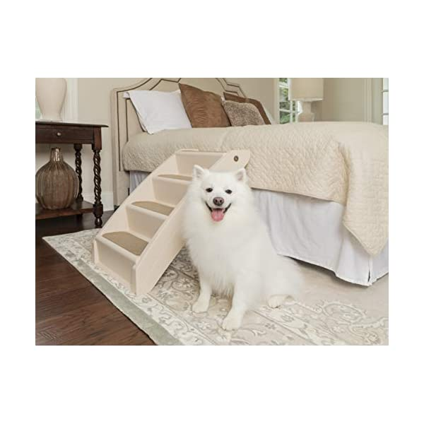 PetSafe CozyUp Folding Pet Steps, Foldable Steps for Dogs and Cats, Best for Small...