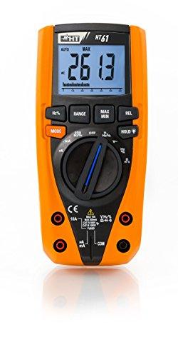 HT-Instruments Digitales Multimeter TRMS, 4 stellige Anzeige, 6000 Digits, Bargraph, CAT IV, 1 Stück, HT61