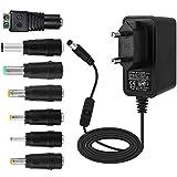 EFISH DC Netzteil 12V 1A 12W mit Schalter,Netzteil 100-240V auf 12V DC für...