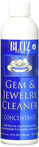 Blitz Gem & Jewelry Cleaner Concentrate (8 Oz) (1-Pack), 1 Pack, 8 Fl Oz