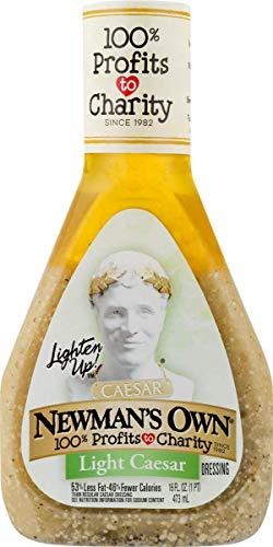 Newman's Own Light Caesar Dressing Salad Dressing, 16 oz