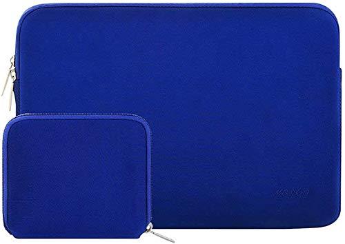 MOSISO Laptop Sleeve Kompatibel mit MacBook Pro 16 Zoll Touch Bar A2141 2020 2019 15 156 Zoll MacBook Pro Retina 2012 2015 Notebook Wasserabweisend Neopren Tasche mit Klein Fall Konigsblau