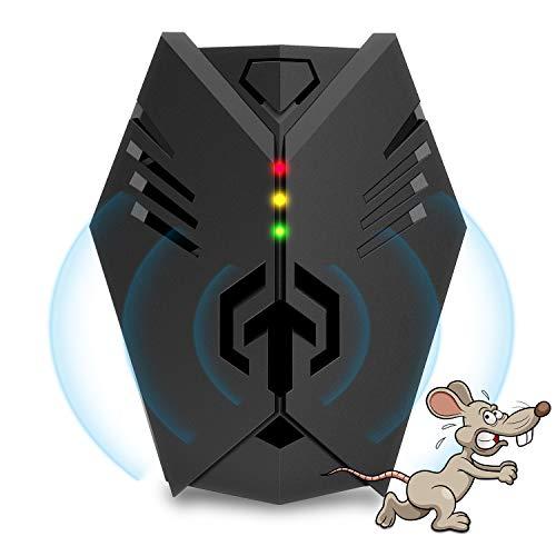Bldaxn Ultraschall Schädlingsbekämpfer Überlegener Nagetier-Repeller, 2020 Verbessertes elektronisches Ultraschall-Eichhörnchen-Abwehr-Plug-In, Ratten-Repeller, Nagetier-Abwehr, Mäuse