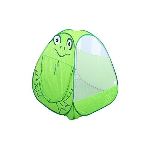CSQ Tienda Verde Infantil, Ligera de Malla Tienda al Aire Libre Tiendas de campaña Tiendas de campaña Play House Interior Carpa/Animales del diseño del Modelo / 100 * 98cm Casa de Juegos para niños