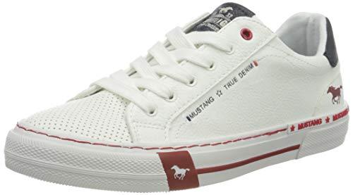 Mustang 1353-301-203, Sneakers Basses Femme, Écru (Ice 203), 38 EU