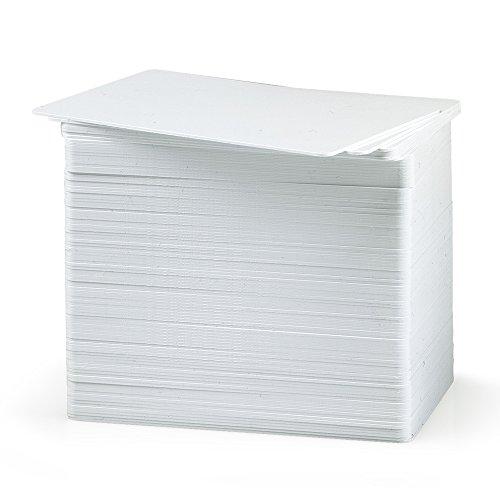 PVC-Karten – blanko, weiß, CR80, 760 Mikron
