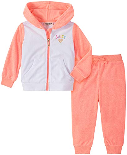 Juicy Couture Baby Girls' 2 Pieces Jog Set