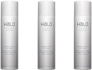 Graham Webb Halo Flexible Control Hair Spray 11.5 oz Pack of 3