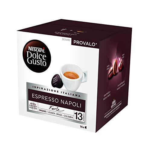 Nescafé Dolce Gusto Espresso Napoli - Café - 48 Capsules (Pack de 3 Boîtes x 16)