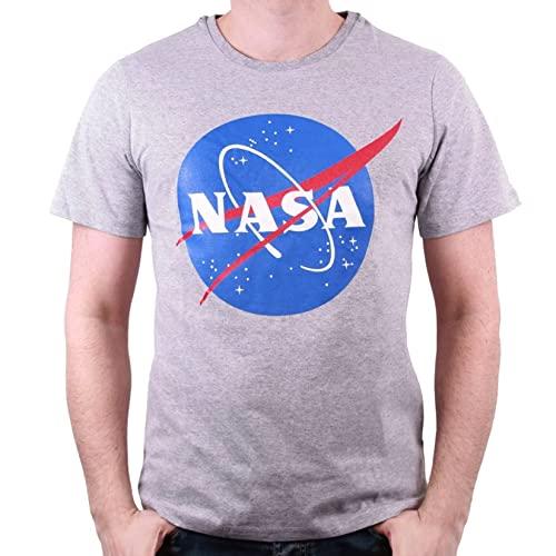 Nasa T-Shirt Camiseta, Mezcla Gris, S...