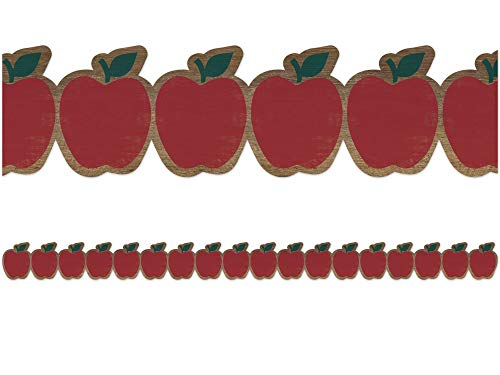 Teacher Created Resources Home Sweet Classroom Apples Die-Cut Border Trim