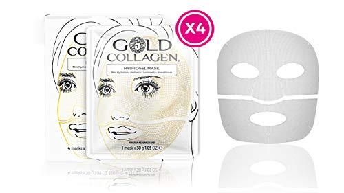 Gold Collagen Hydrogel Face Mask - 4 Mask