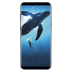 (Refurbished) SAMSUNG Galaxy S8 64GB Phone – 5.8in Unlocked Smartphone – Midnight Black