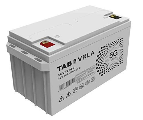 Batería AGM 12V 80Ah Sin Mantenimiento Ni Gases, Válvula VRLA - TAB 5GVRLA80