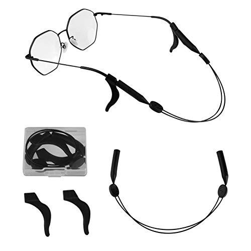 Correa ajustable para gafas, ajuste universal retenedor de gafas de sol deportivas, unisex, correa para gafas de sol, correa para gafas de sol, correa para hombres, mujeres