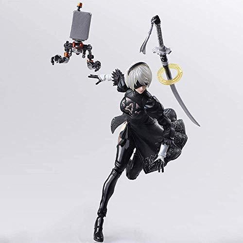Square Enix Nier Automata Bring Arts 2B Kaine Nier 15cm PVC Action Figures...