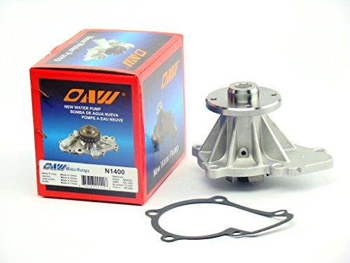 OAW N1400 Engine Water Pump for 98-04 Nissan Frontier, 89-98 240SX, 00-04 Xterra & 90-97 Pickup D21 KA24E KA24DE 2.4L